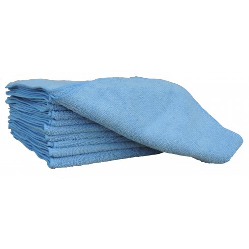 Blue Microfibre Cloth