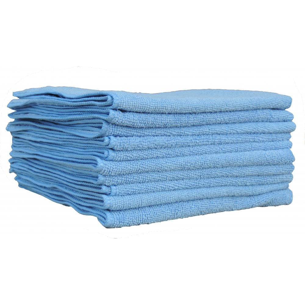 Blue Microfibre Cloth From Craftex Cleaning Systems Uk