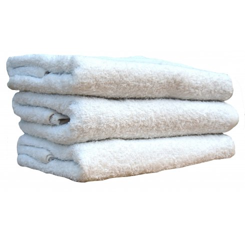 Carpex White Terry Towels