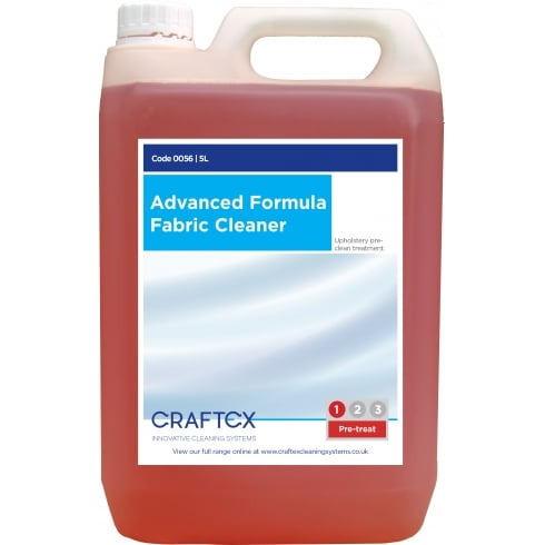 Craftex Advanced Formula Fabric Cleaner, 5Ltr