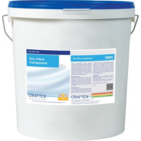 Craftex Dry Fibre Compound, 12Kg