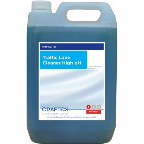 Craftex Traffic Lane Cleaner High Ph, 5Ltr