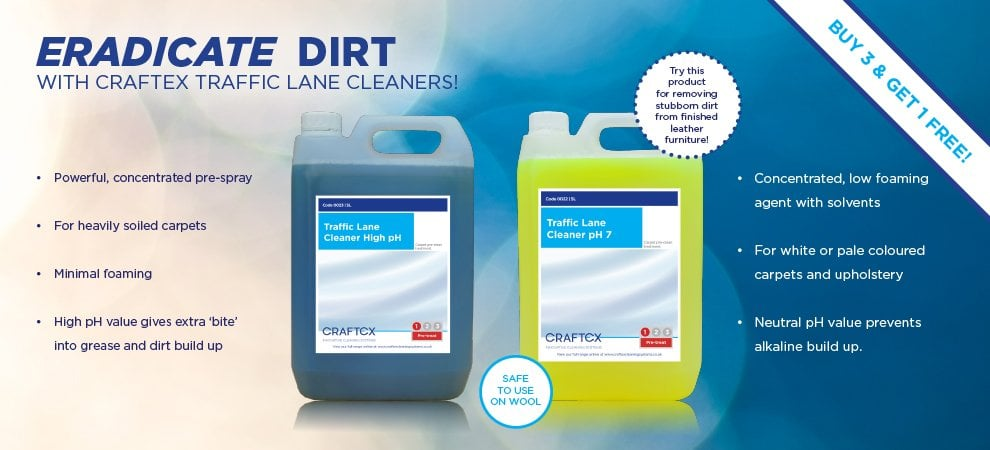 August Offers - Traffic Lane Cleaners