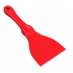 Plastic Scraper Red
