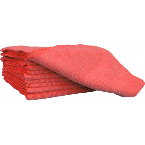Red Microfibre Cloth
