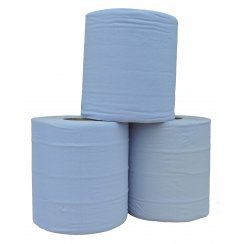 Wypall 1 Ply Blue Rolls