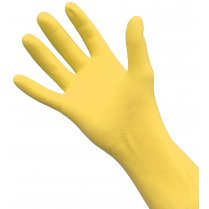 Yellow Rubber Gloves, Medium